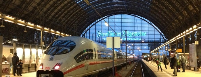 Frankfurt (Main) Hauptbahnhof is one of Guide to Frankfurt's best spots.