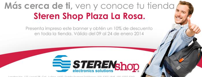 Steren shop is one of Steren® México's Tips.
