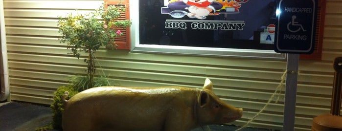 The Twisted Pig is one of South Carolina Barbecue Trail - Part 1.