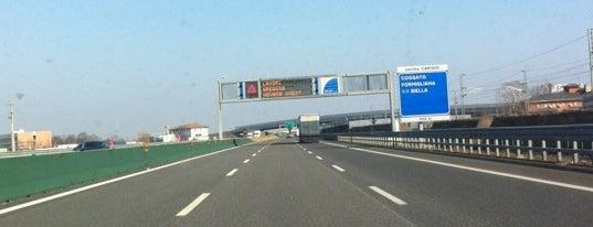 A4 - Carisio is one of A4 Autostrada Torino - Trieste.