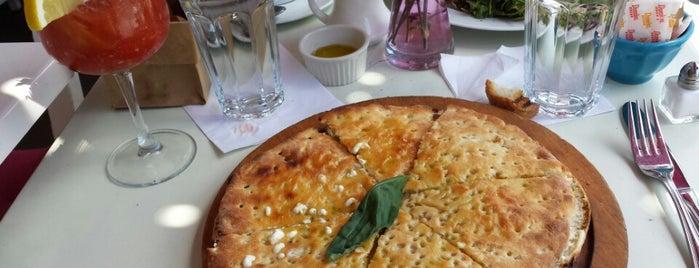 Gina la Fornarina is one of Restaurants.