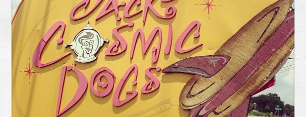 Jack's Cosmic Dogs is one of 20 favorite restaurants.