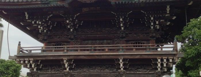 柴又帝釈天 (経栄山題経寺) is one of 行った所&行きたい所&行く所.