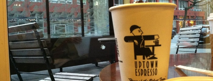 Uptown Espresso is one of My Favorite Cafes with Coffee and Wifi.