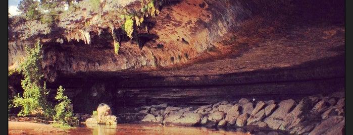 Hamilton Pool Nature Preserve is one of Hook 'Em Horns- Austin.