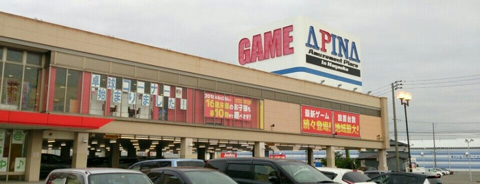 アピナ 長岡店 is one of Darius Burst AC in Niigata.