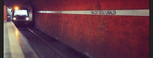 Metro Baldo degli Ubaldi (MA) is one of Muoversi a Roma.