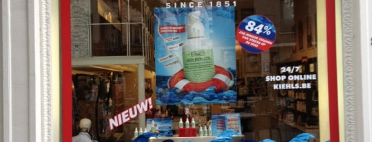 Kiehl's is one of Shopping loves Antwerp.