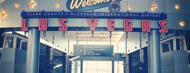 McCarran International Airport is one of Viva Las Vegas.