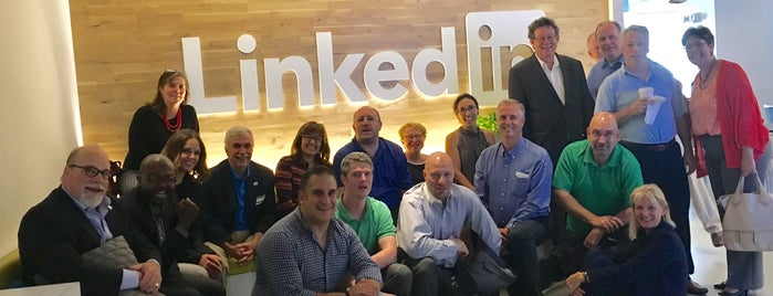 LinkedIn New York Office is one of Visitors Guide to Silicon Alley.