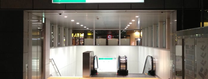 都営新宿線 本八幡駅 (Motoyawata Sta.) (S21) is one of Station.