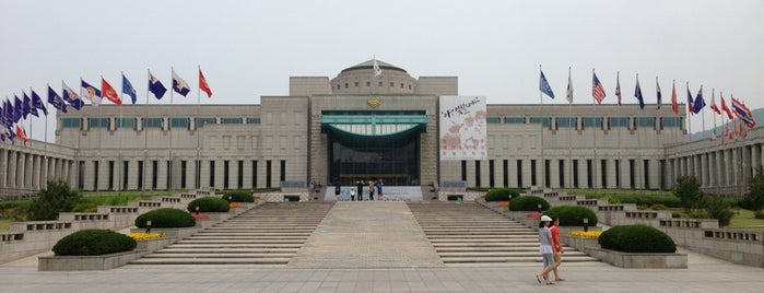 전쟁기념관 (The War Memorial of Korea) is one of Top picks for Museums.