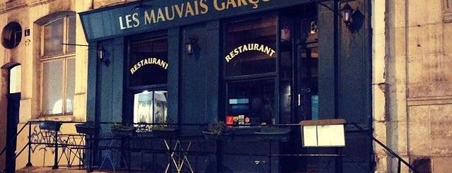 Les Mauvais Garçons is one of Paris.