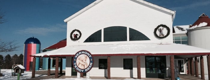 Vermont Teddy Bear Factory is one of The Best Spots in Burlington, VT! #visitUS.