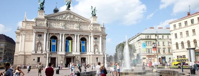 Fountain near Opera House is one of DebrA.
