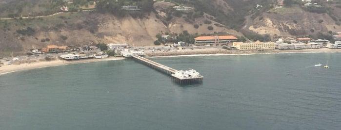 Malibu Beach, CA is one of Los Angeles Celeb Hotspots.