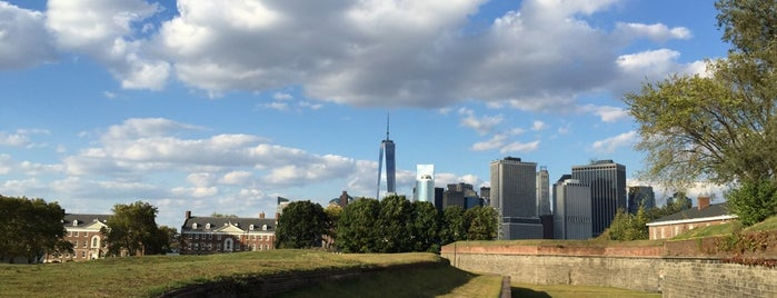 Governors Island is one of TREAT YO SELF.