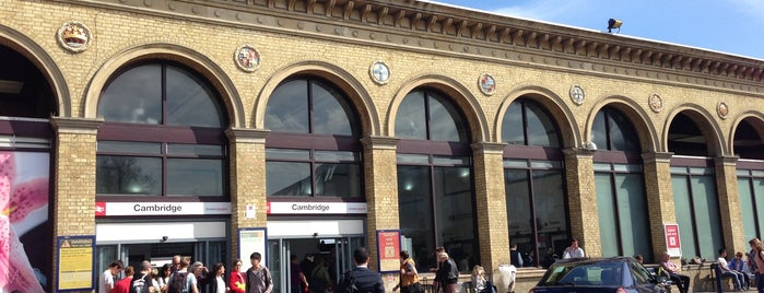 Cambridge Railway Station (CBG) is one of My Favourite Food Places.