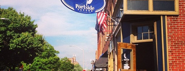 Canton's Portside Tavern is one of Canton Tour.