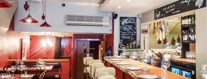 The Saltyard is one of London Restaurants.