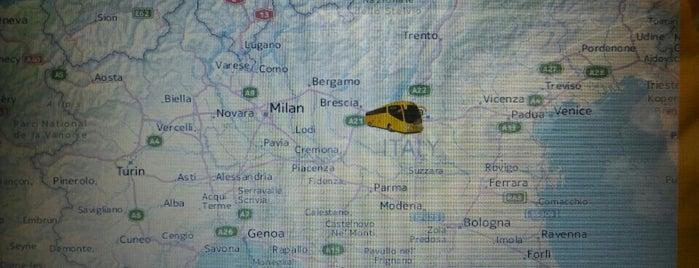 A4 - Uscita Sirmione is one of A4 Autostrada Torino - Trieste.