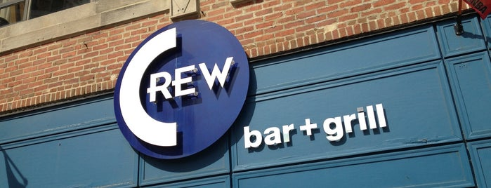 Crew Bar and Grill is one of Chicago, IL - Gay.