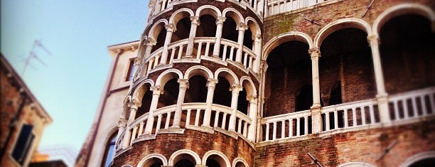 Palazzo Contarini del Bovolo is one of Venezia sights.