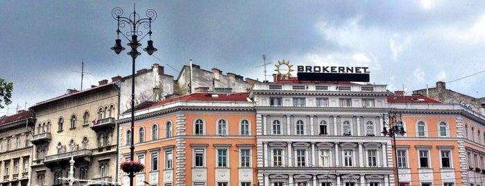 Oktogon is one of Budapest i love.