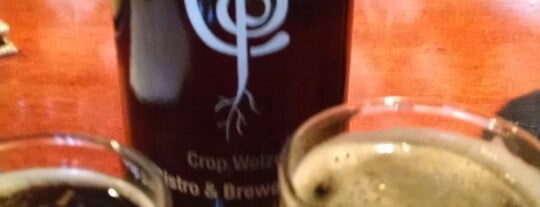 Crop Bistro & Brewery is one of New England Breweries.
