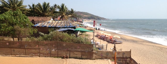 Anjuna Beach is one of Guide to Goa's best spots.