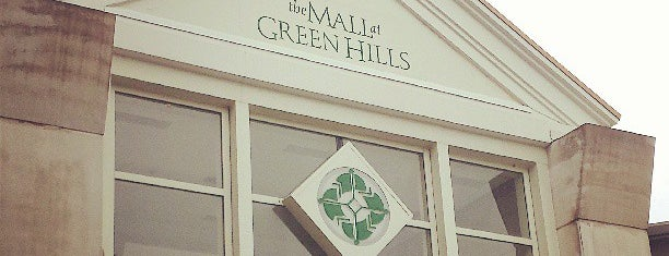 The Mall at Green Hills is one of Nashville.