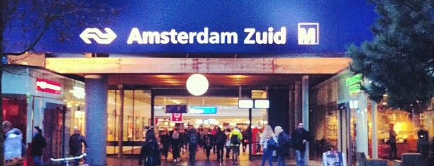 Station Amsterdam Zuid is one of Travel.