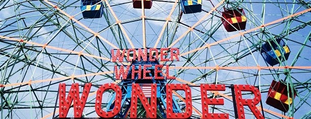 Deno's Wonder Wheel is one of Historic Places.
