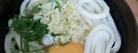 手打ちうどん のぶや is one of めざせ全店制覇~さぬきうどん生活~ Category:Ramen or Noodle House.