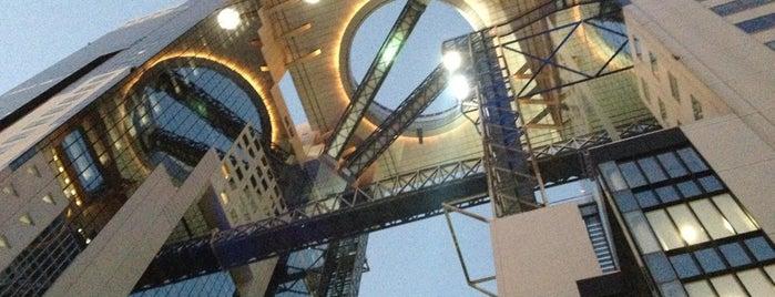 梅田スカイビル空中庭園展望台 Floating Garden Observatory is one of 大阪に帰省したら必ず行く店.