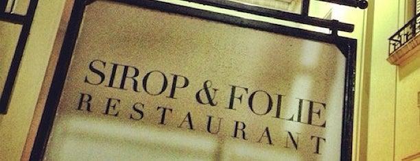 Sirop Folie is one of Panaderías Francesas en Buenos Aires.