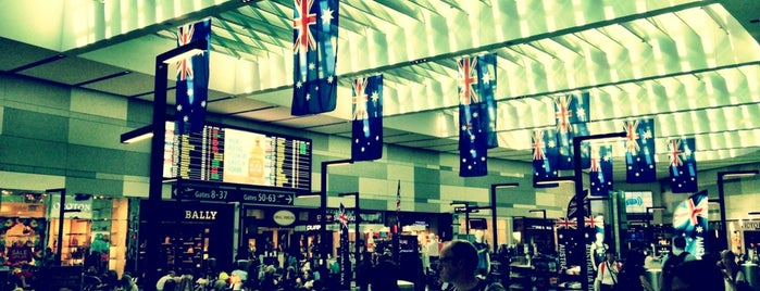 sydney airport international departures philadelphia - photo#1