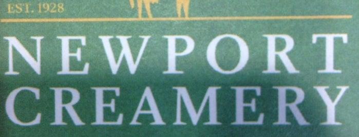 Newport Creamery is one of Taste of Rhode Island.