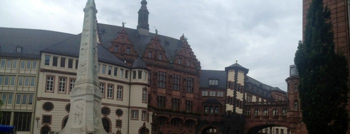 Marktplatz is one of European places I've visited..