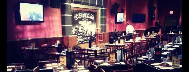 Gotham Comedy Club is one of New York.