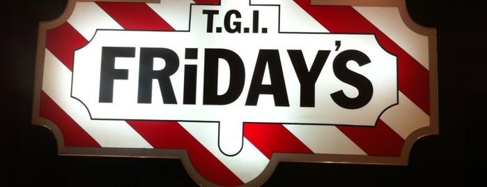 T.G.I. Friday's is one of Caffe.