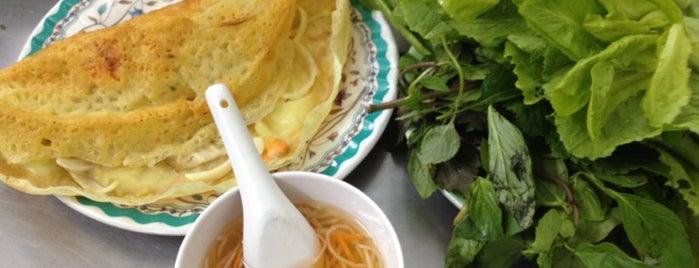 Bánh Xèo 46 Đinh Công Tráng is one of Eating out in Saigon.