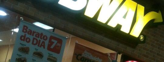 Subway is one of Restaurantes e Lanchonetes (Food) em João Pessoa.