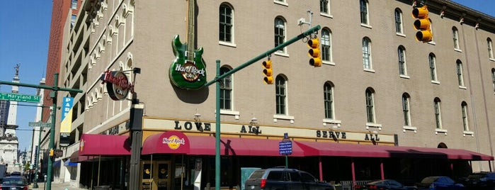 Hard Rock Cafe Indianapolis is one of Best Burger Places.