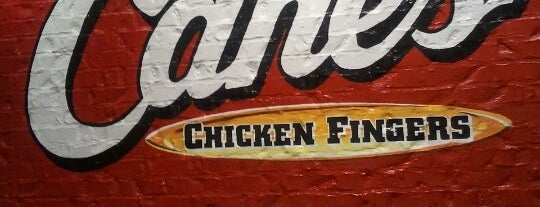 Raising Cane's Chicken Fingers is one of Recycle Hotspots.
