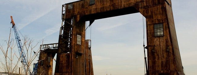 Port Morris Gantries is one of Abandoned NYC.