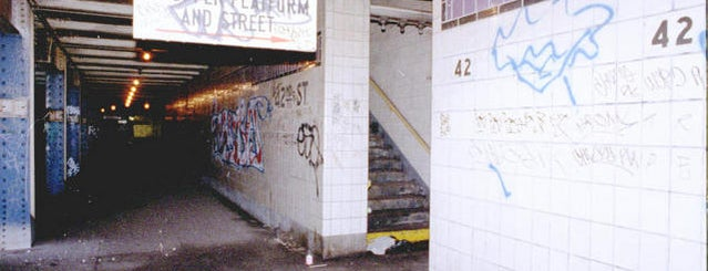 MTA Subway - 42nd St/Times Square/Port Authority Bus Terminal (A/C/E/N/Q/R/S/1/2/3/7) is one of Abandoned NYC.