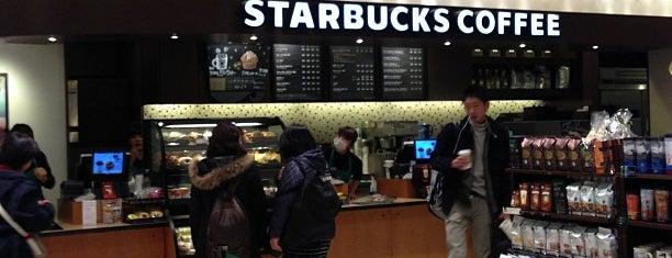 Starbucks Coffee 羽田空港第1ターミナルマーケットプレイス3階店 is one of Starbucks Coffee (東京23区:千代田・中央・港以外).