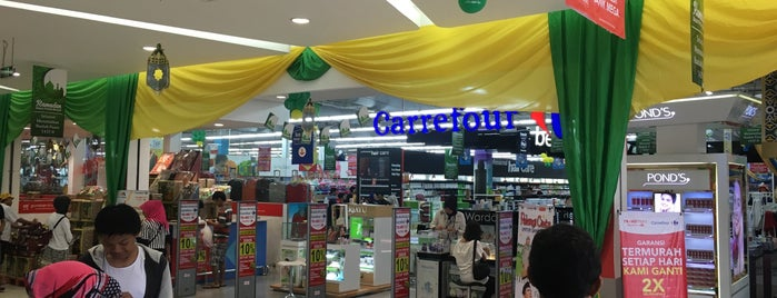 Carrefour is one of All-time favorites in Indonesia.