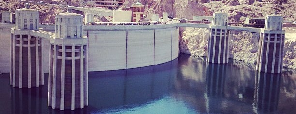 Hoover Dam is one of road trip u.s.a..
